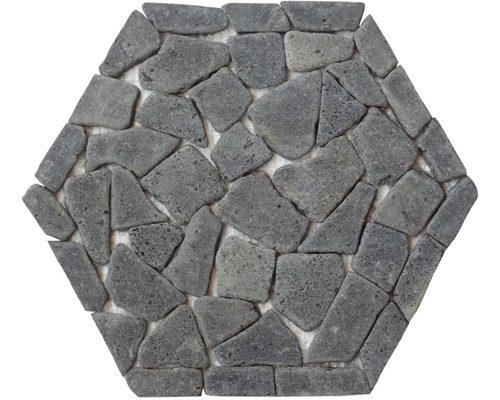 Waben Schwarze Lava