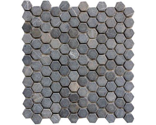 Mini Hexagon Grey