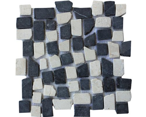 New Mosaic Mix White Grey