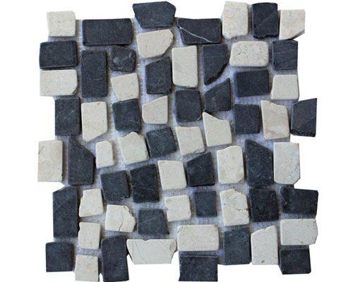 New Mosaic Mix White Grey