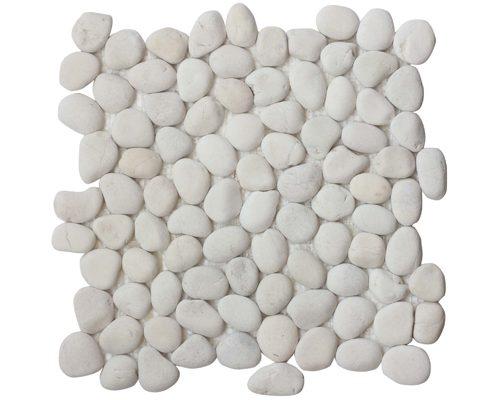 Small Pebble White