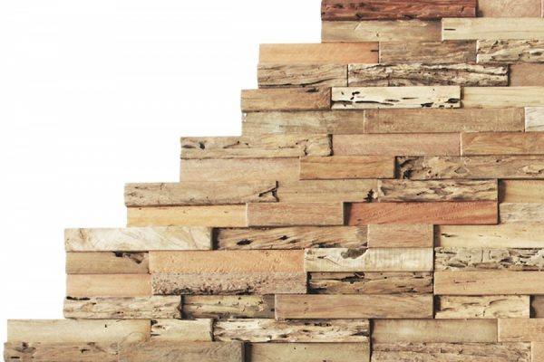 Mélange de revêtement en bois rustique
