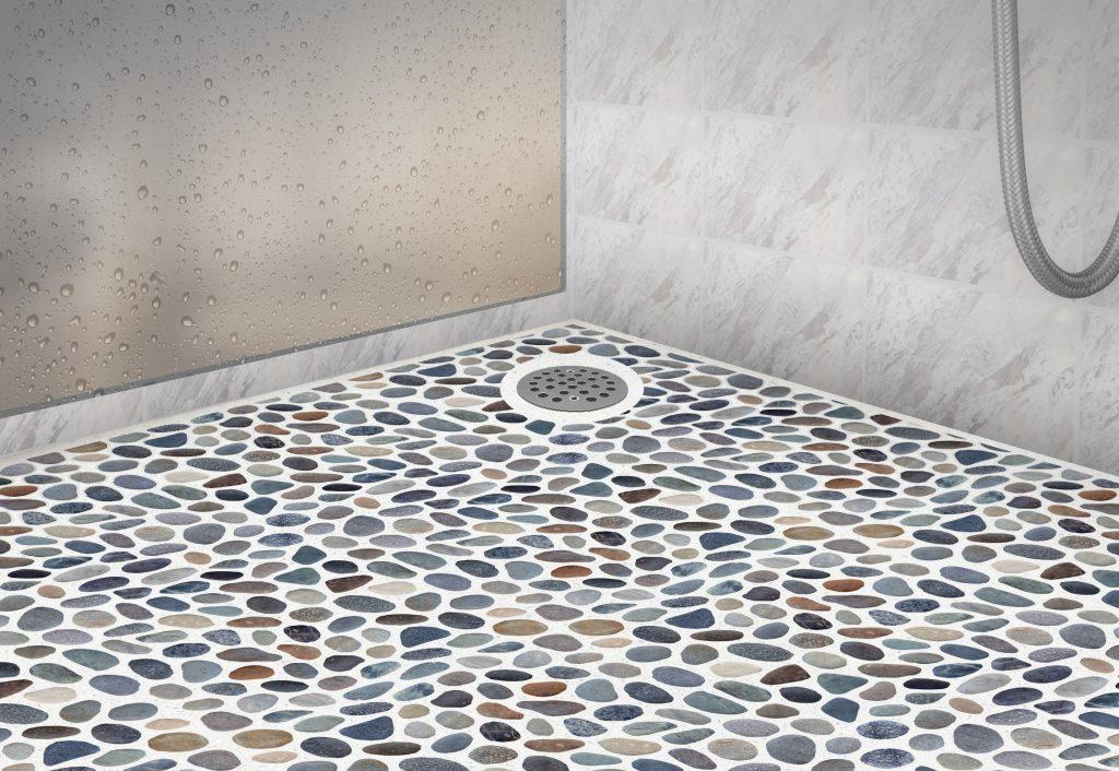 Versatile Natural Pebbles Stone Floor