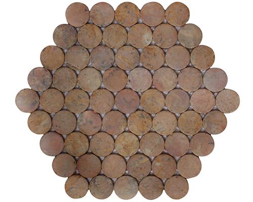 Corail de lune de nid d'abeille