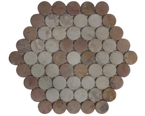 Honeycomb Moon Mix Corail
