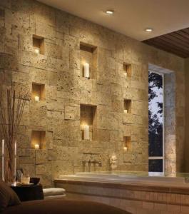 Decorating wall cladding